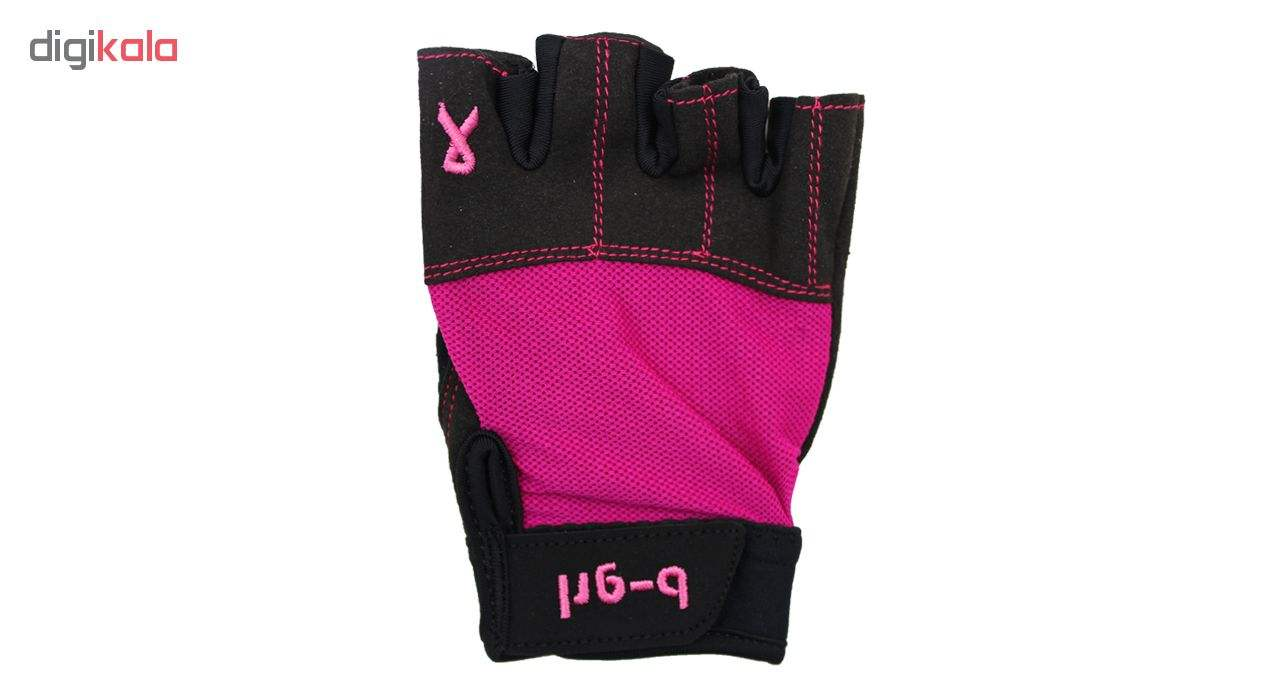 دستکش بدنسازی زنانه بی گرل مدل n12 main 1 3