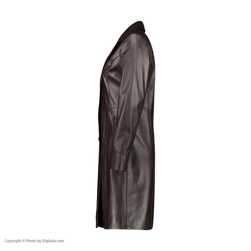 کت چرم زنانه چرم مشهد مدل B0455-091