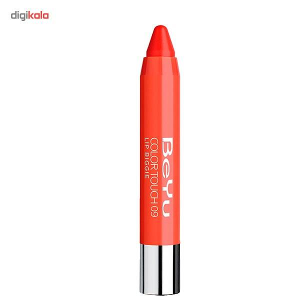 رژ لب جامد بی یو مدل Color Touch Lip Biggie 09 main 1 1