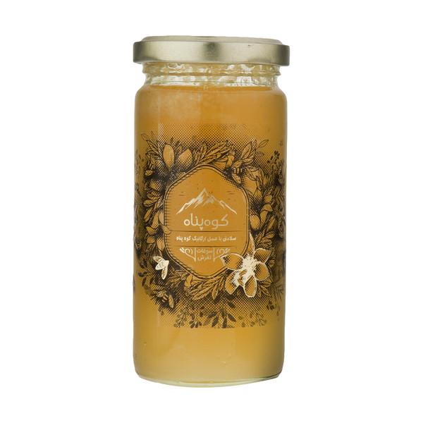عسل چند گیاه بهاره گلد و ژل رویال ارگانیک کوهپناه - 300 گرم