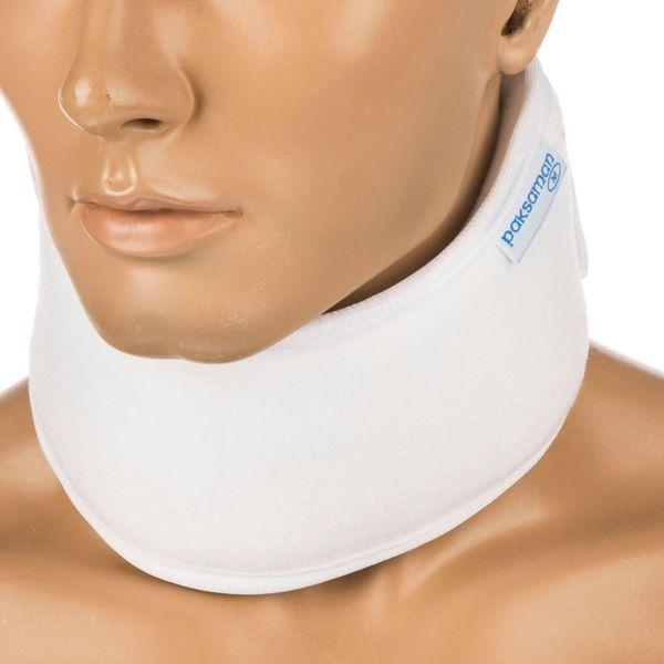 گردن بند طبی پاک سمن مدل Soft With Bar سایز بزرگ