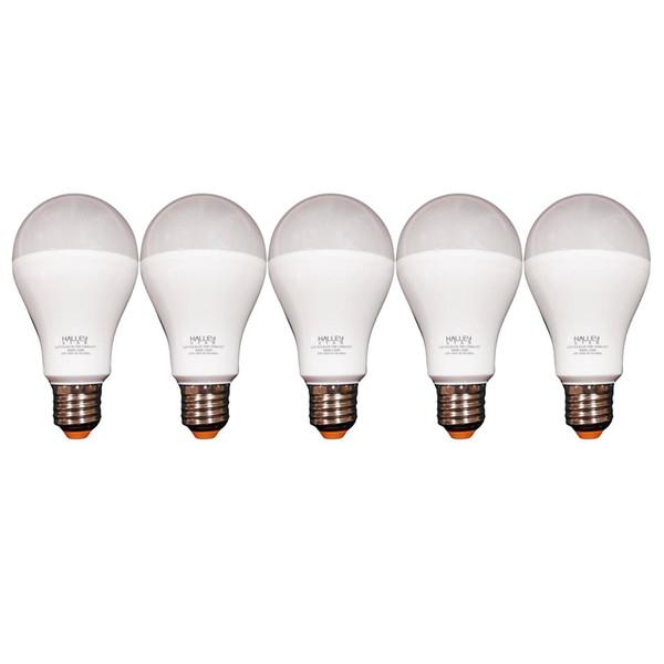لامپ ال ای دی 15 وات هالی استار کد A70 پایه E27 بسته 5 عددی