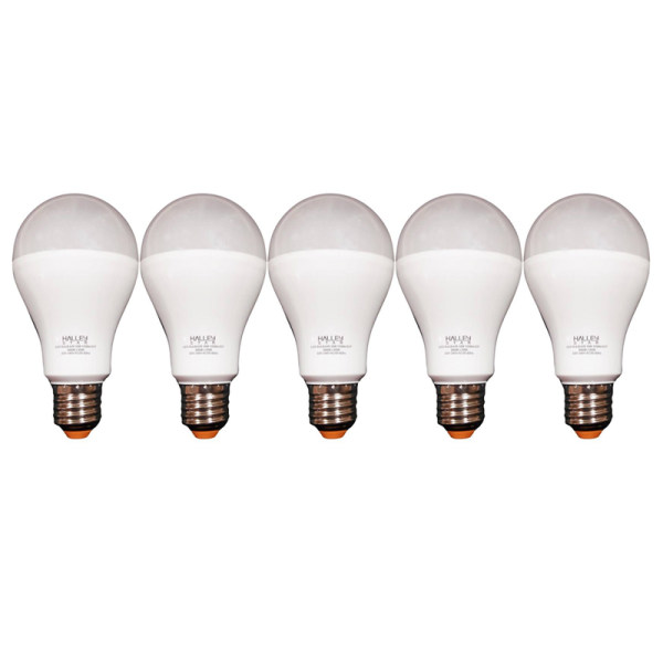 لامپ ال ای دی 12 وات هالی استار پایه E27 بسته 5 عددی