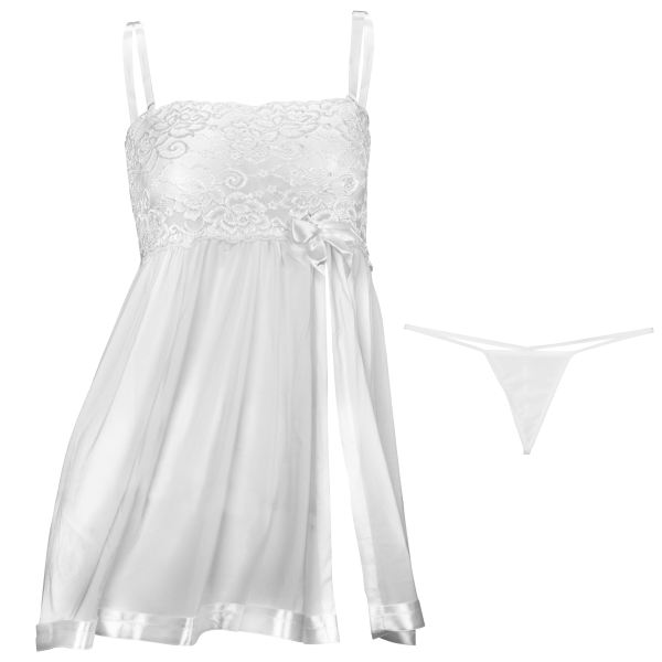 لباس خواب زنانه مدل White-Prances