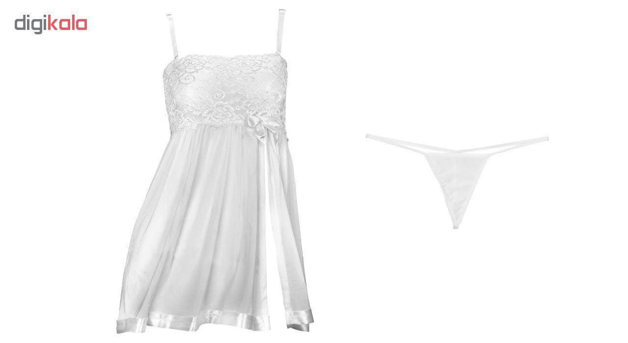 لباس خواب زنانه مدل White-Prances main 1 1