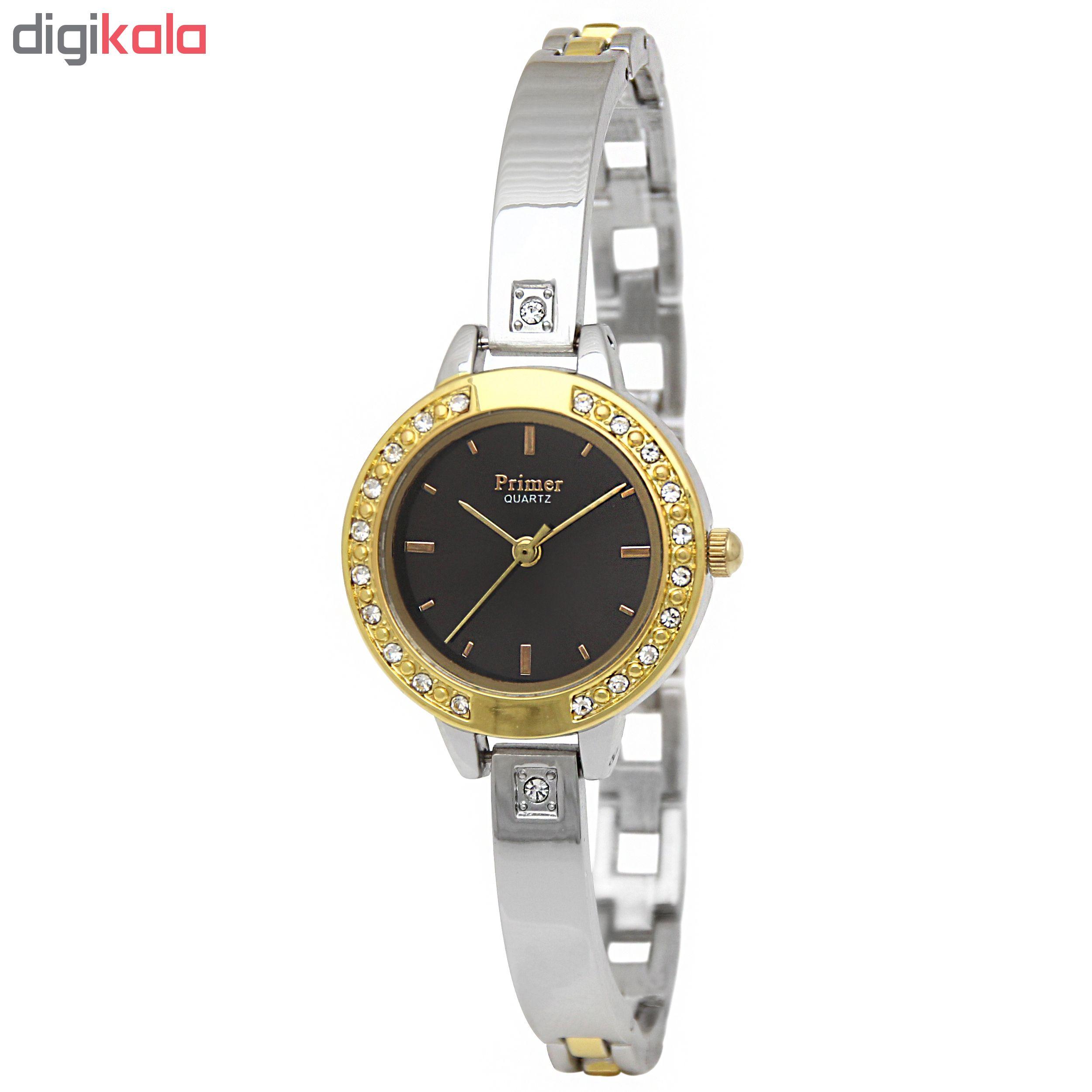 ساعت مچی عقربه ای زنانه پرایمر مدل DL-26-7-SGB              ارزان