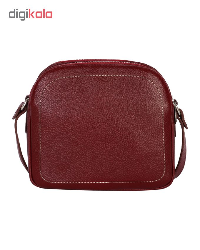 کیف رودوشی زنانه رویال چرم کدW61-Crimson