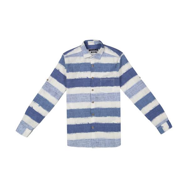 پیراهن پسرانه ال سی وایکیکی مدل 8S2556Z8-BLUE