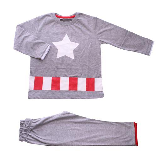 ست لباس پسرانه وچیون طرح کاپیتان امریکا مدل Captain897