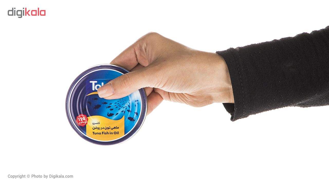 کنسرو ماهی تون در روغن تحفه - 120 گرم main 1 5