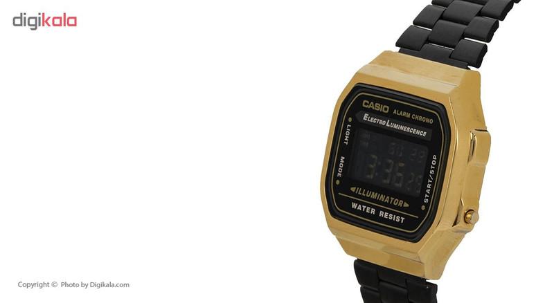 ساعت مچی دیجیتالی کاسیو مدل A168WEGB-1BDF