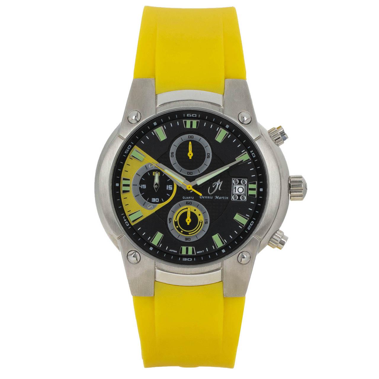 ساعت مچی عقربه ای مردانه دنیس مارتین مدل SSL-173.01.R16.08