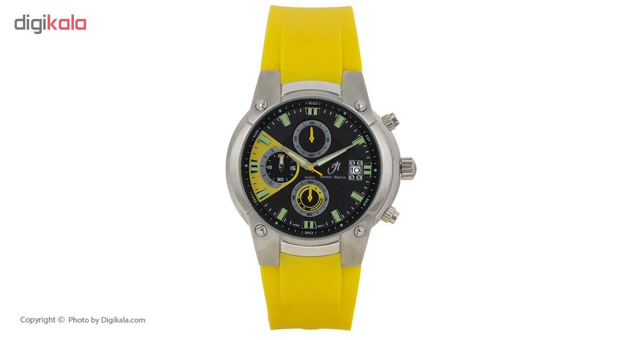 خرید ساعت مچی عقربه ای مردانه دنیس مارتین مدل SSL-173.01.R16.08