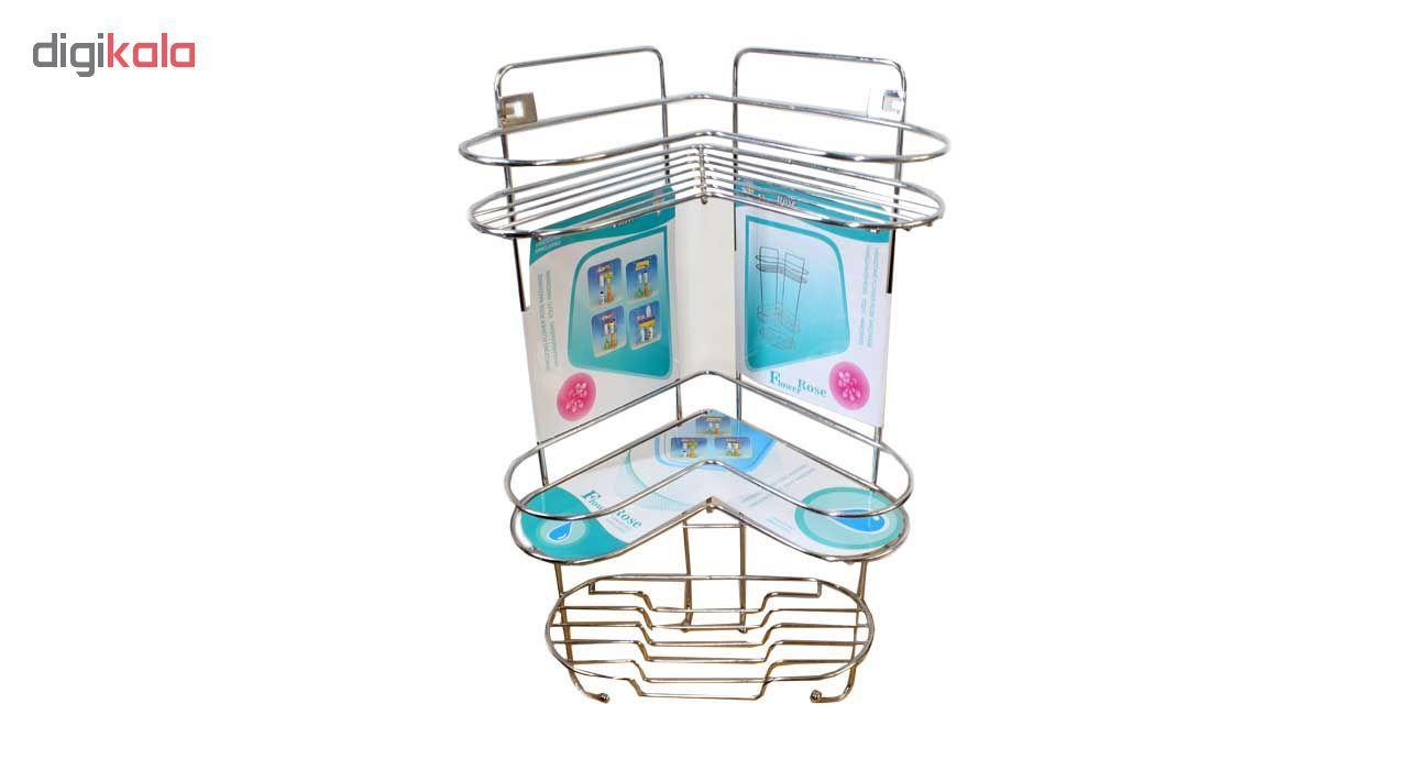 قفسه حمام کنجی فلاور رز کد SP-001 main 1 2