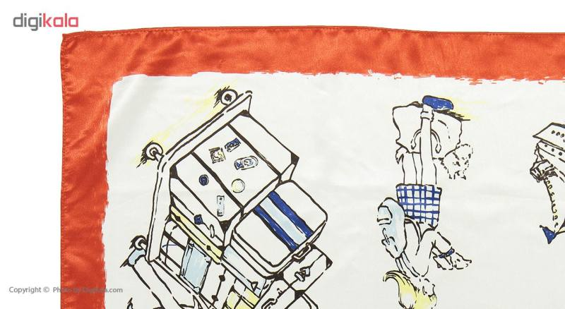 روسری پسژ مینیون مدل M36015 C062