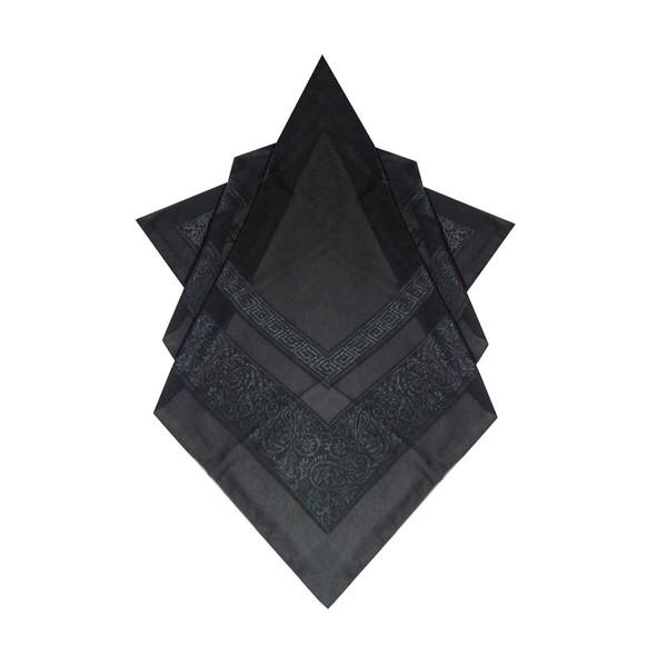 روسری زنانه توتو طرح گل برجسته 01