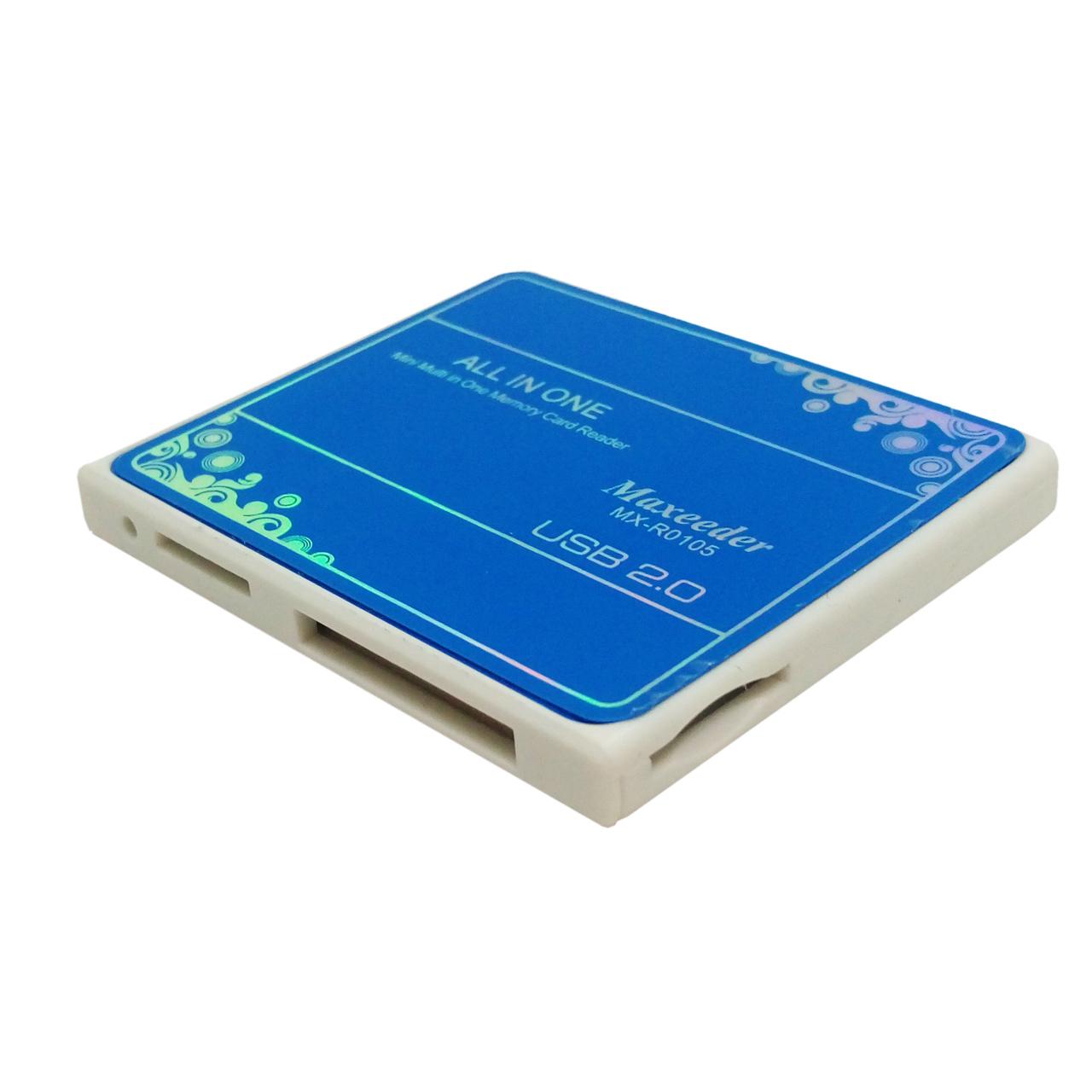 کارت خوان حافظه  مکسیدر MX-R0105