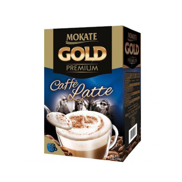 پودر قهوه لاته موکاته طرح Permium Gold بسته 10 عددی