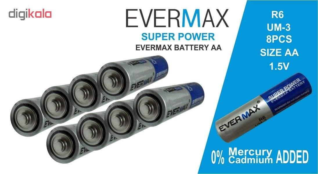 باتری قلمی اور مکس مدل Super Power بسته 8 عددی main 1 2