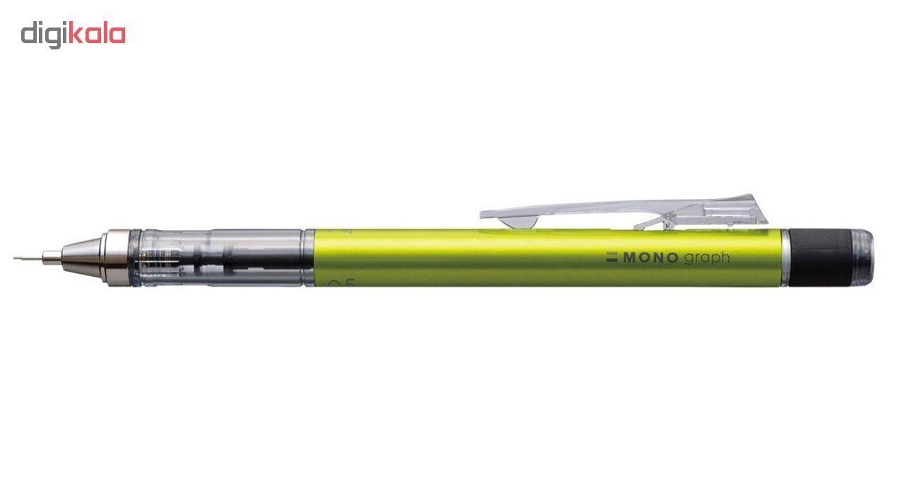 مداد نوکی 0.7 میلی متری تومبو مدل MONO GRAPPH main 1 2
