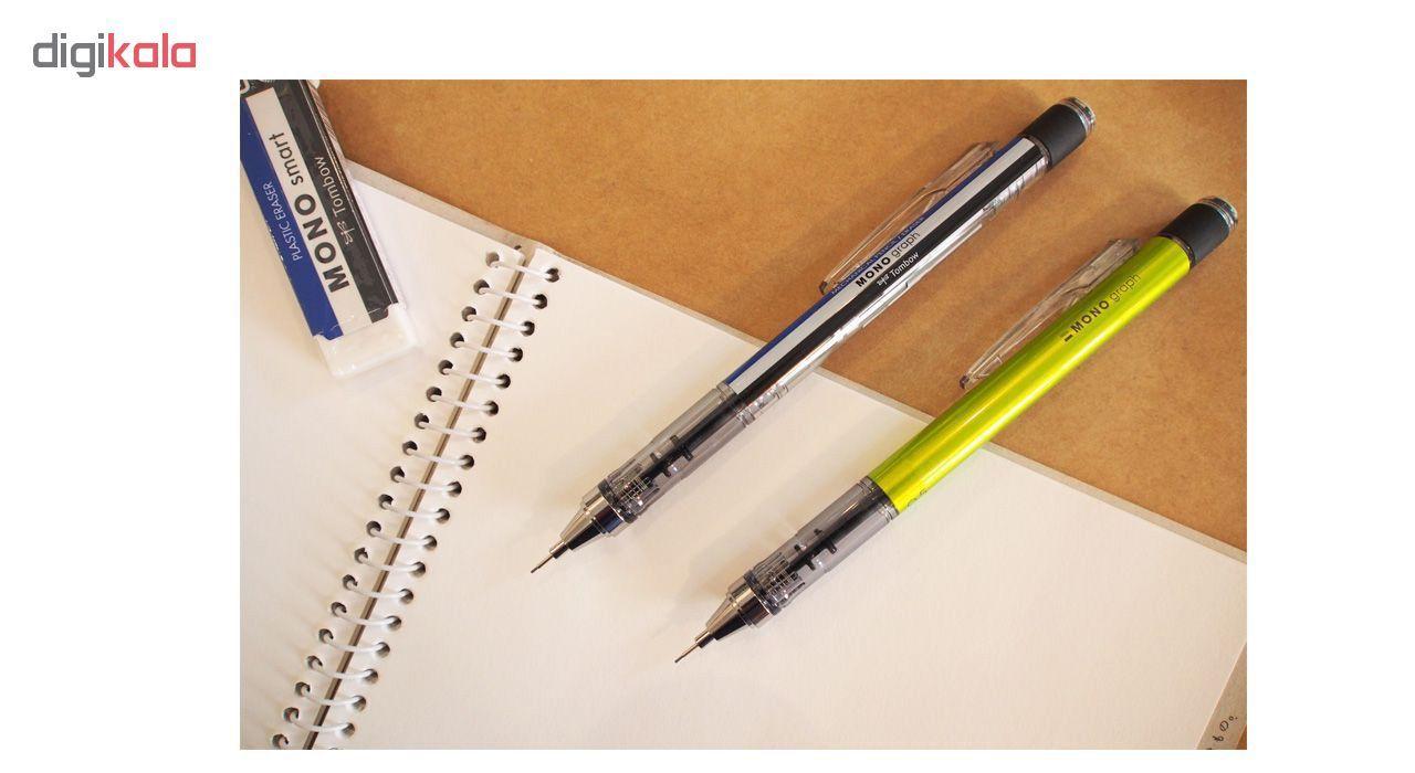 مداد نوکی 0.7 میلی متری تومبو مدل MONO GRAPPH main 1 3