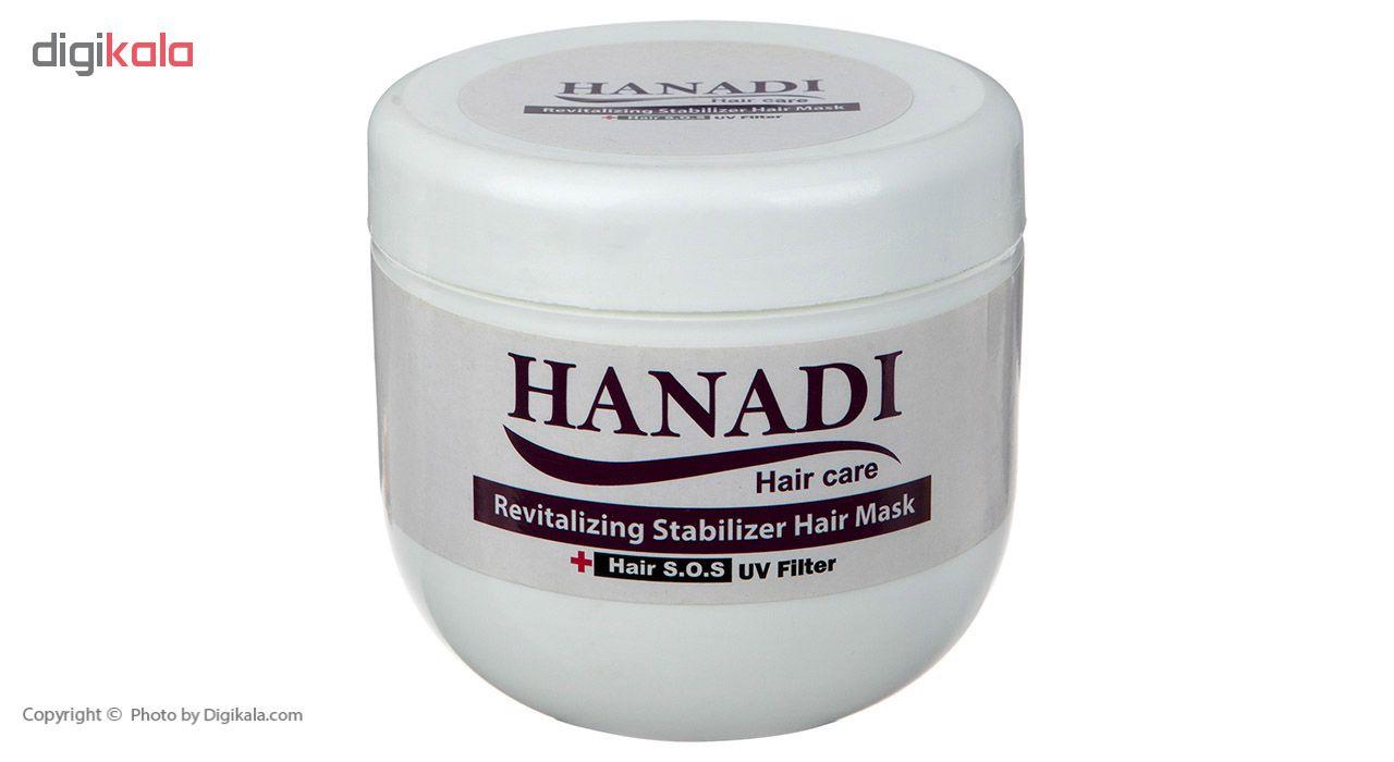 ماسک تثبیت کننده رنگ مو هانادی مدل Revitalizing Stabilizer حجم 500 میلی لیتر