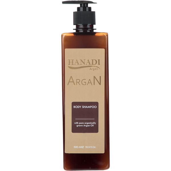 شامپو بدن هانادی مدل Argan Oil حجم 500 میلی لیتر