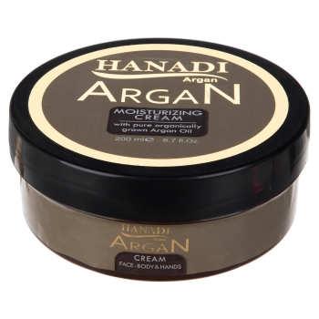 کرم مرطوب کننده هانادی مدل Argan Oil حجم 200 میلی لیتر