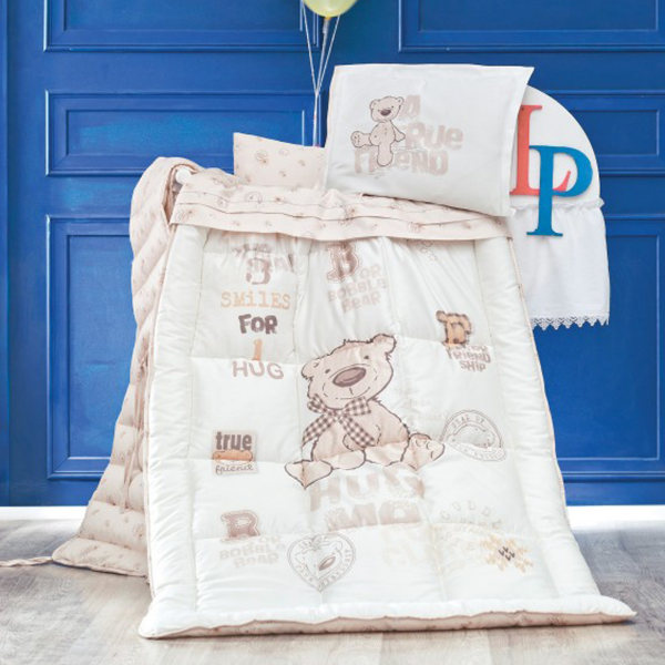 سرویس روتختی نوزادی 8 تکه برند لوکا پاتیسکا مدل Bernard