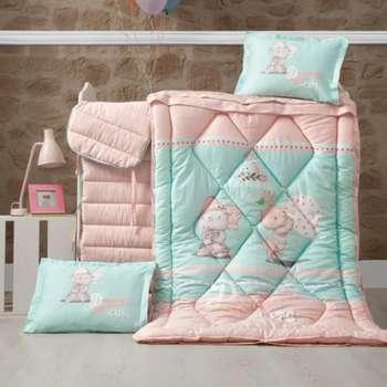 سرویس روتختی نوزادی 8 تکه برند لوکا پاتیسکا مدل kitty | Louca patisca Kitty 8 pieces Sleep Set