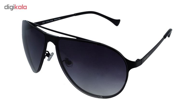 عینک آفتابی پلیس مدل SPL166-0581-Org100