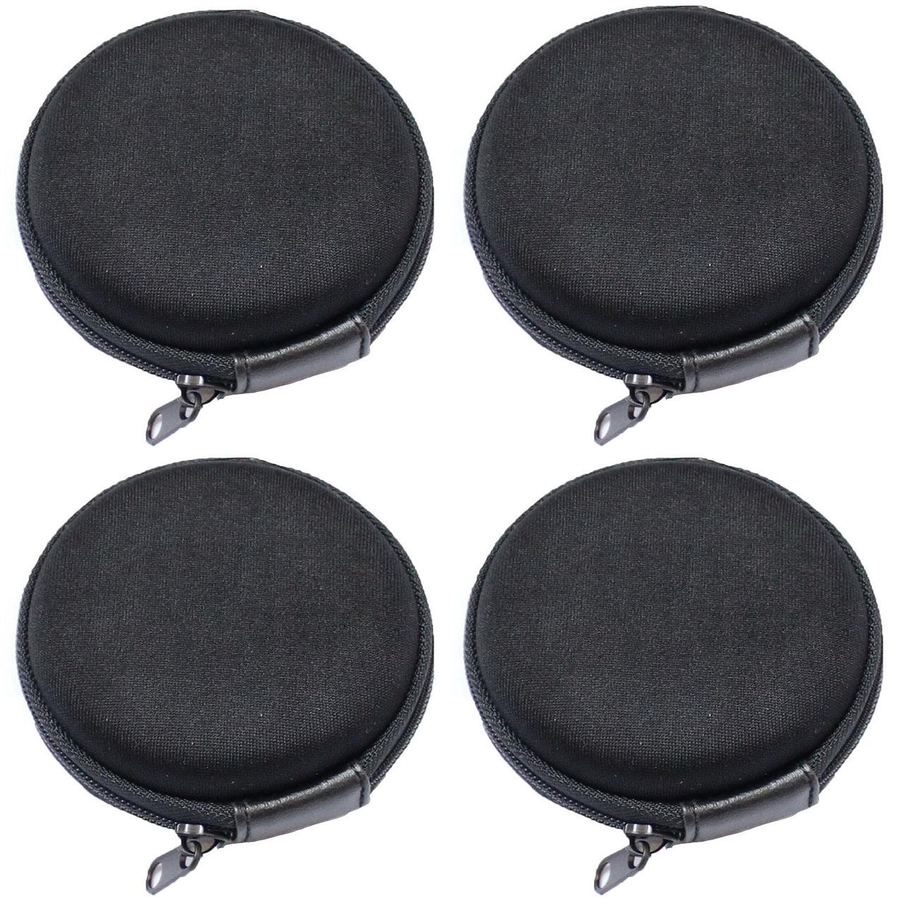 کیف هندزفری مدل Black بسته 4 عددی              ( قیمت و خرید)