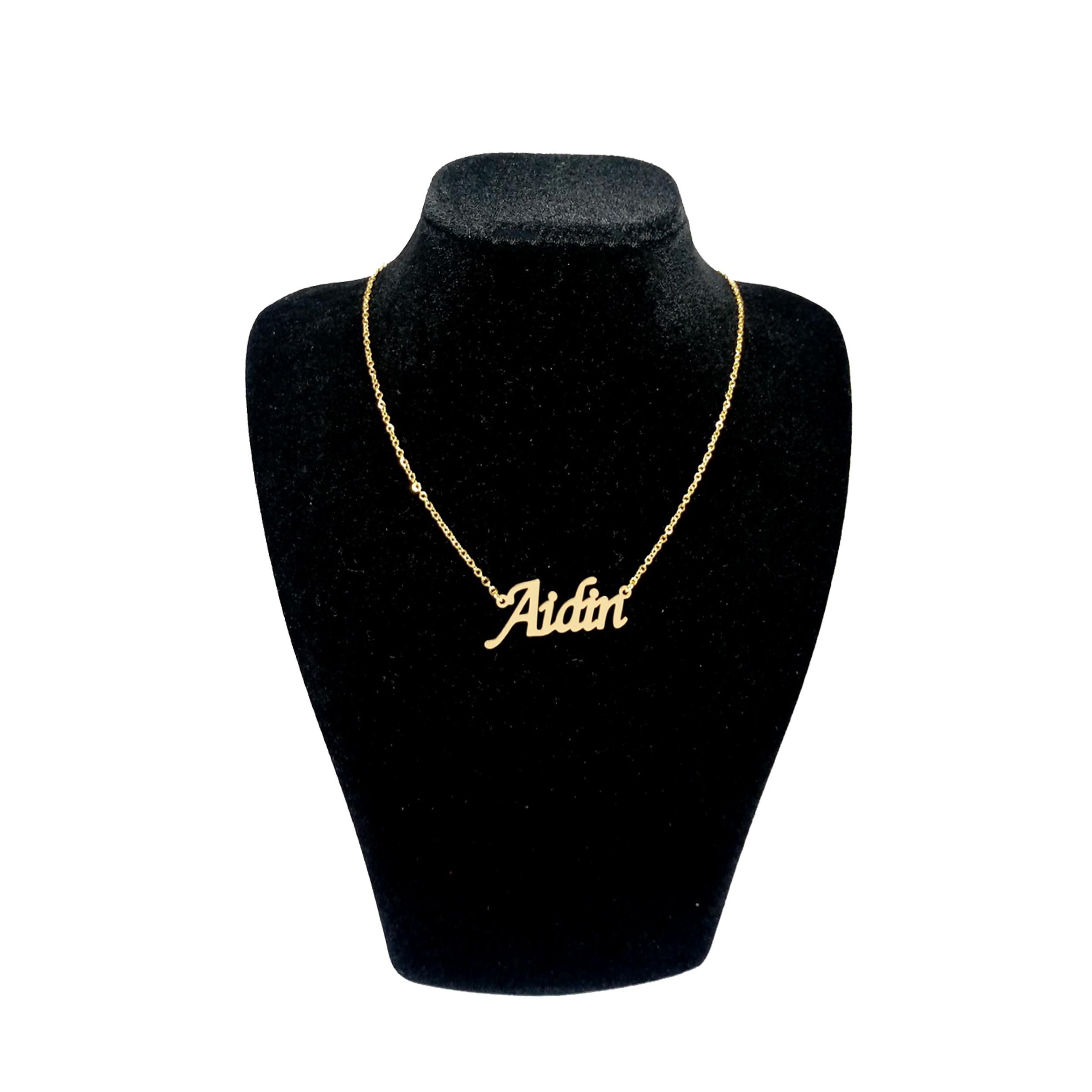 گردنبند نقره زنانه آی جواهر طرح آیدین کد N605