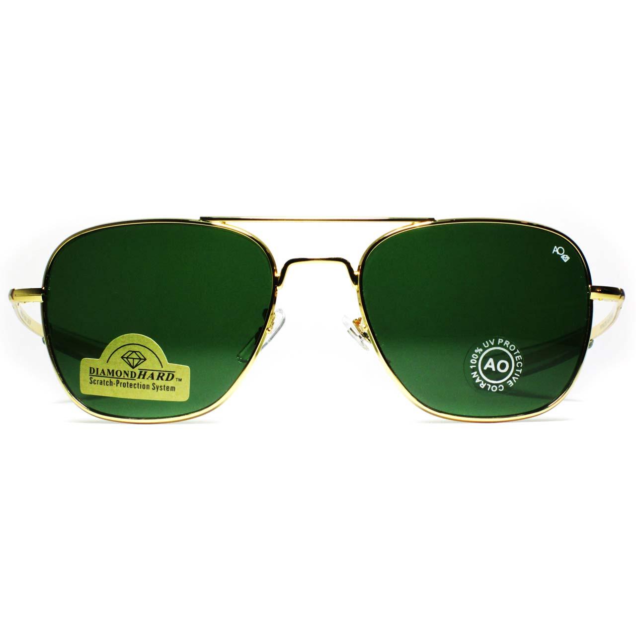 قیمت عینک آفتابی AO طلایی مدل 20KGP