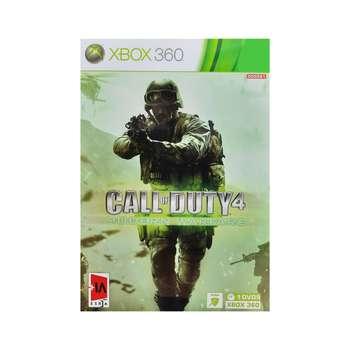 بازی Call of Duty 4 مخصوص xbox 360