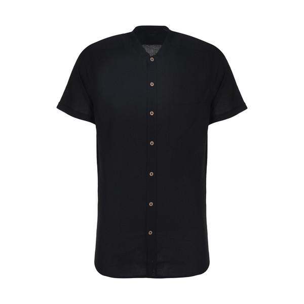 پیراهن آستین کوتاه مردانه ال سی وایکیکی مدل 0SD044Z8-CVL-NEWBLACK