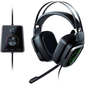 هدفون مخصوص بازی ریزر مدل Tiamat 7.1 V2 | Razer Tiamat 7.1 V2 Gaming headphones