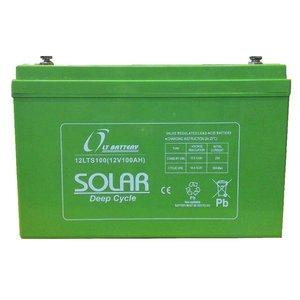 باتری خورشیدی ال تی مدل 12LTS120 ظرفیت 120 آمپر ساعت