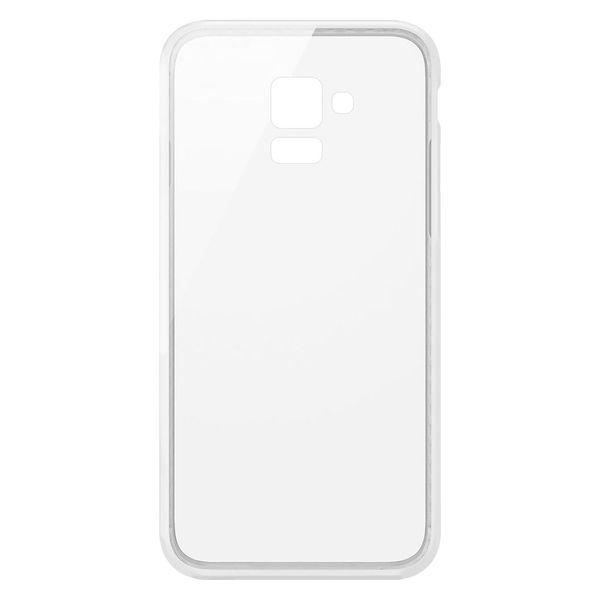 کاور  مدل Clear TPU مناسب برای گوشی موبایل سامسونگ Galaxy A8 Plus 2018