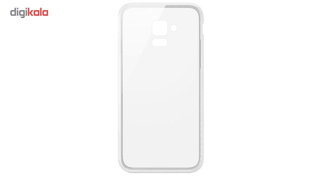 کاور  مدل Clear TPU مناسب برای گوشی موبایل سامسونگ Galaxy A8 Plus 2018 main 1 1