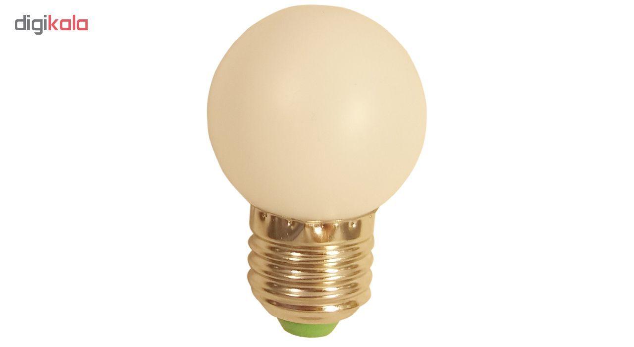 لامپ ال ای دی 0.5 وات کد شب خواب پایه E27  main 1 4
