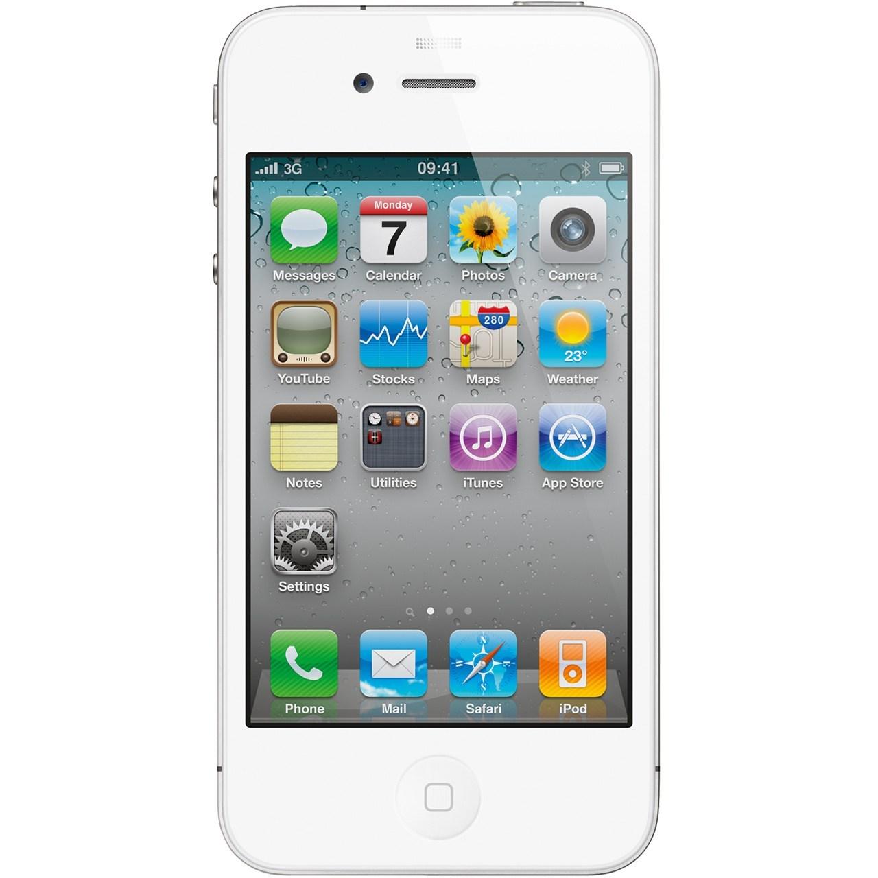 گوشی موبایل اپل آی فون 4 اس-16 گیگابایت
