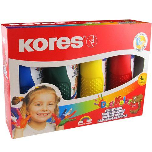 رنگ انگشتی 4 رنگ کورس مدل Dedi Kolor - حجم 150میلی لیتر