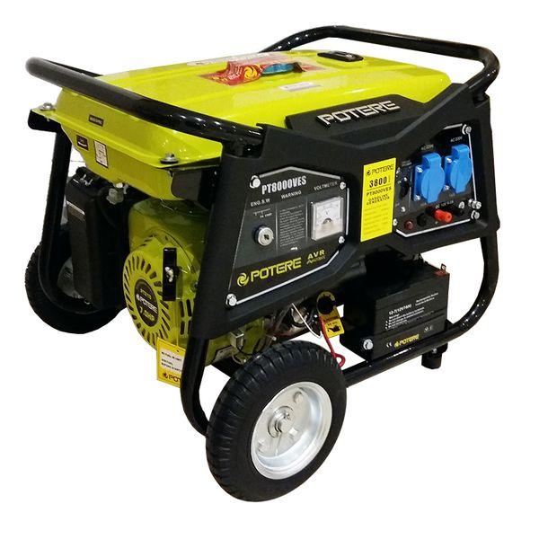 موتور برق بنزینی پوتر مدل PT8000VES