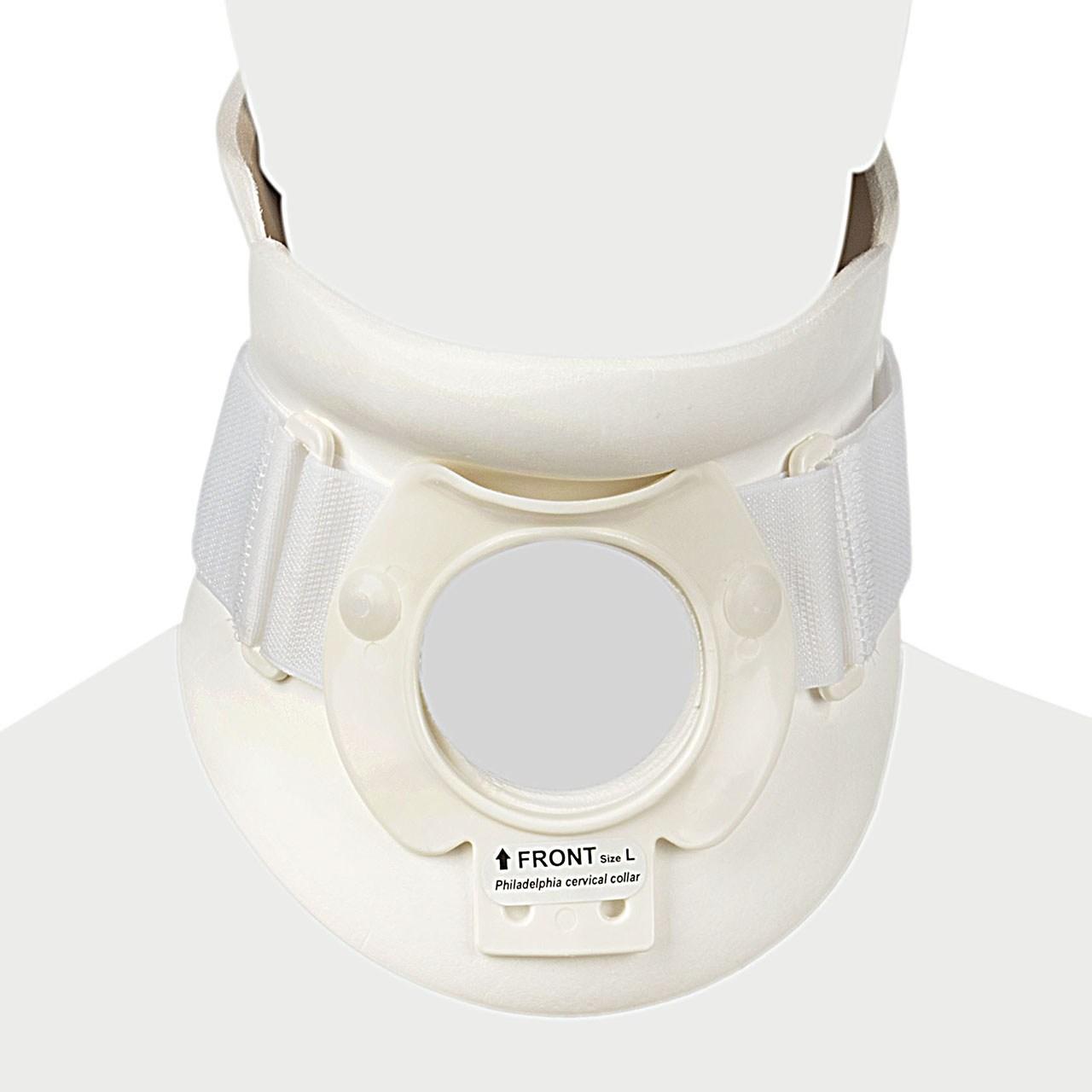 گردن بند طبی پاک سمن مدل Philadelphia With Trachea Opening سایز بسیار بزرگ