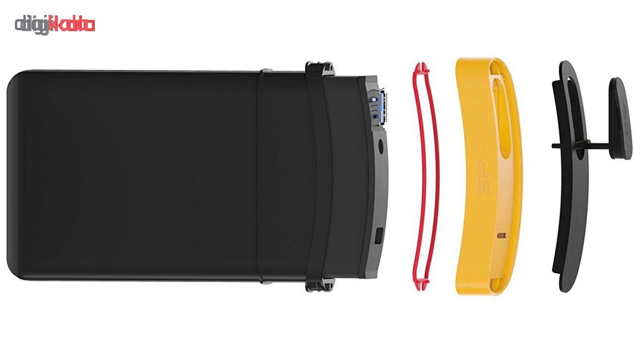 هارد اکسترنال سیلیکون پاور مدل Armor A65 ظرفیت 1 ترابایت
