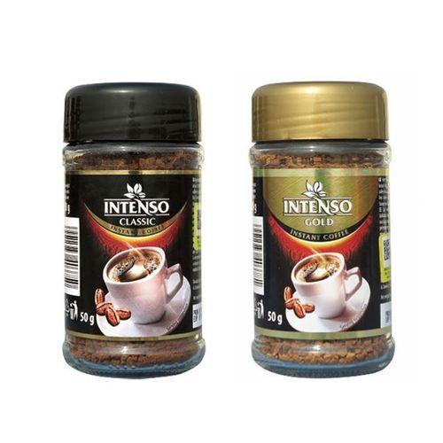پودر قهوه فوری کلاسیک و گلد اینتنسو مقدار 100 گرم
