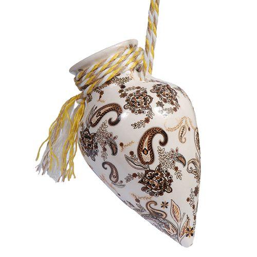 گلدان آویز سفالی کد 1775