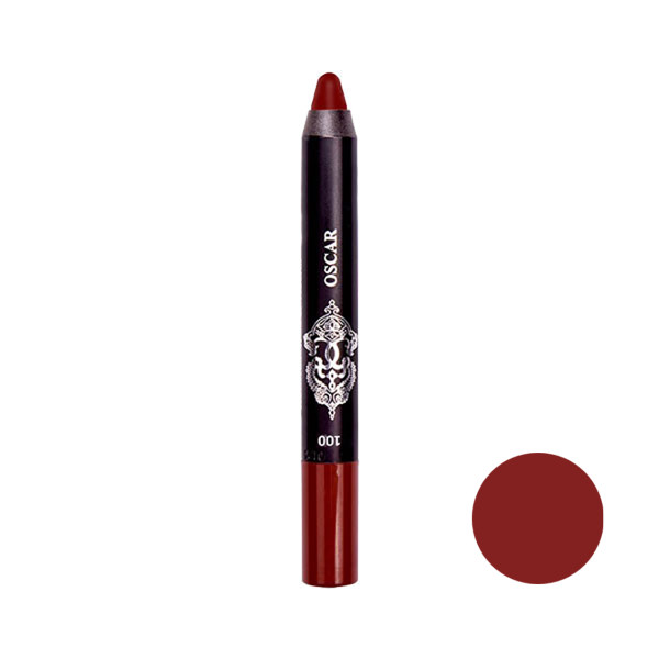 رژ لب مدادی اسکار مدل CHUBBY شماره 100