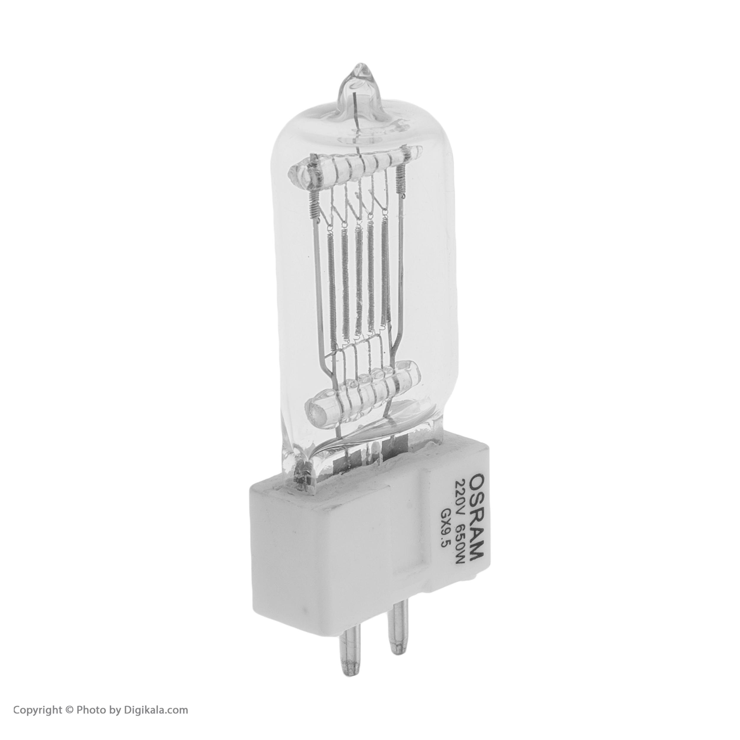لامپ 650 وات مدل RA-03 پایه GX9.5                     غیر اصل